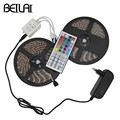 DC 12V RGB LED Strip 5050 2835 Waterproof Fita LED Light Strips Flexible Neon Tape With 2A 3A Power and 24K 44K Remote Christmas