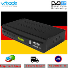 Vmade DVB T2 terrestrial receiver HD 1080P DVB-T2 TV Tuner Box H.265 HEVC support youtube WIFI AC 3 Hot sales Germany