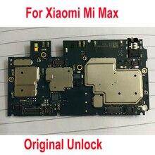 Оригинальная глобальная прошивка используется тестовая работа разблокированная системная плата для Xiaomi Mi Max материнская плата цепи плата Шлейф набор аксессуаров
