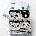 Kawaii Korean Animal Cartoon Long Socks Cute Women Cat Rabbit Panda Patterned Sock Novelty Pure Cotton Socks With Gift Box