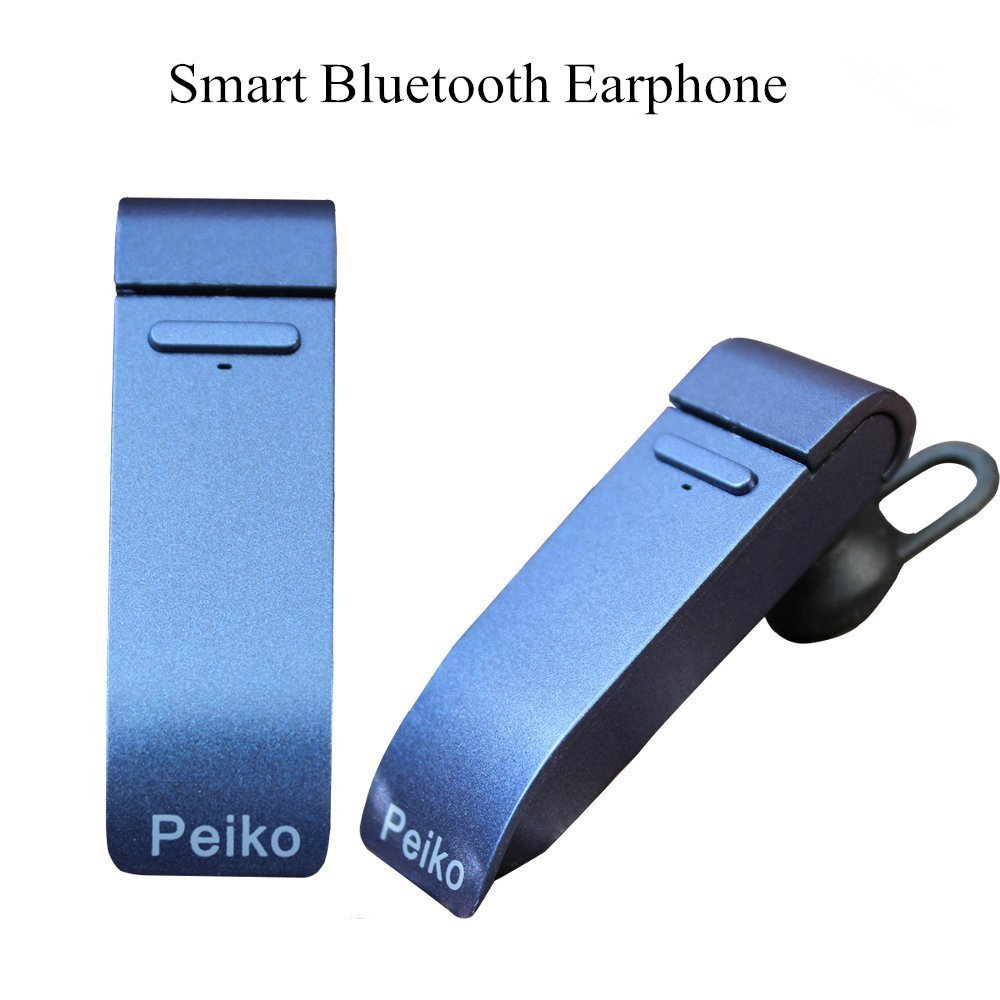 Peiko Microphone Smart Bluetooth Translator Headset 20 Languages Intelligent APP Online