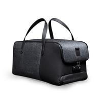 Krion Flexpack для мужчин бизнес путешествия вещевой мешок Anti theft замок вести Чемодан большой ёмкость Складная зарядка через Usb дорожная сумка