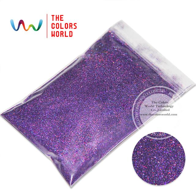 """TCA800 Láser de Color Púrpura 0.1 MM 004 """"Glitter polvo, Especular brillo brillo para uñas tatto,, Arte decoración y otros"""