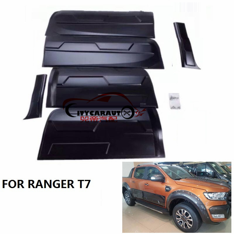 Body Cladding Side Door Trims Plate Fit For T7 Ranger Exterior Body Cladding Kits Ranger