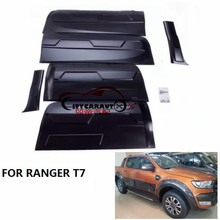 BODY CLADDING SIDE DOOR TRIMS PLATE FIT FOR T7 RANGER EXTERIOR BODY CLADDING KITS RANGER EXTERIOR ACCESSORIES WILDTRADK T6 T7