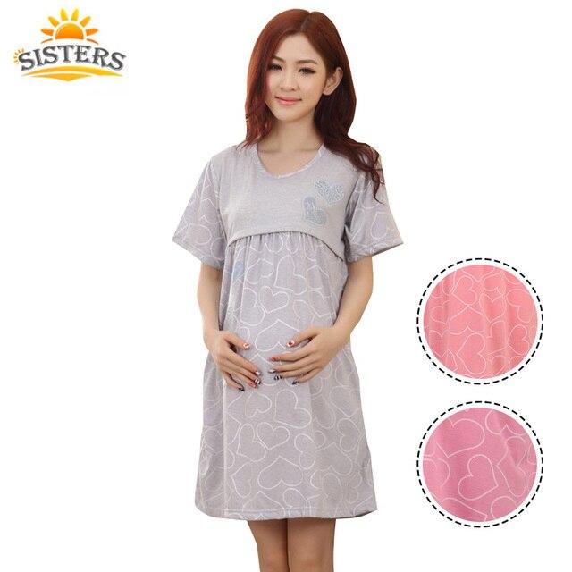 Di Per Maternità Allattamento Donna La Incinta Pigiameria Mese Gonna rB71IrSFq