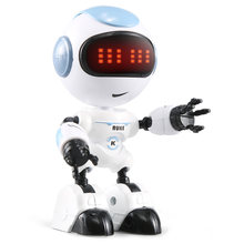 JJRC R8 Touch Sensing LED Eyes RC Robot Smart Voice DIY Body Gesture Model Toy Intelligent RC Robot Toy Action Toy Figures(China)