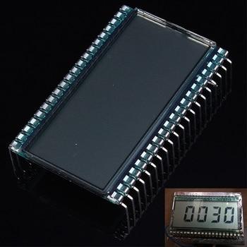 EDS805 Module daffichage LCD 4 bits 8 chiffres TN Segment LCD 50.8x30.48x2.8mm 45.72x16.51mm broche métallique
