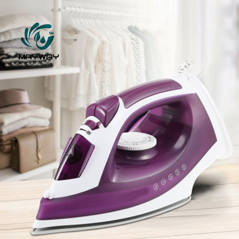 1600W Mini Portable Electric Steam Iron For Clothes Multifunction Nonstick Soleplate Adjust  Ceramic soleplate iron for ironing 1600W Mini Portable Electric Steam Iron For Clothes Multifunction Nonstick Soleplate Adjust  Ceramic soleplate iron for ironing