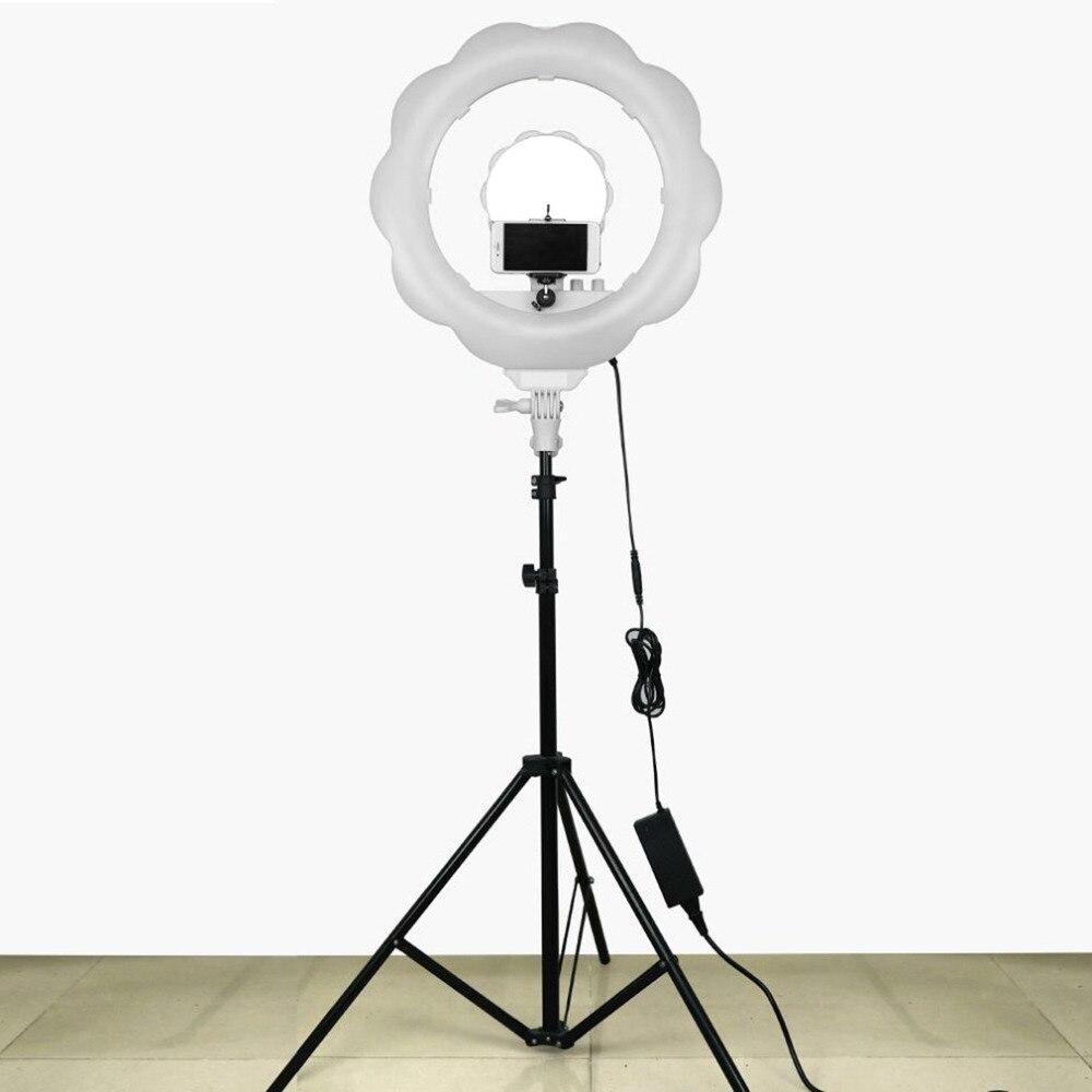 Acheter Super Lumineux Led Photographie Lumière Dimmable Caméra Anneau Vidéo Lampe De Lumière Pour Maquillage Studio Vidéo Photo De 173 42 Du Doper Dhgate Com