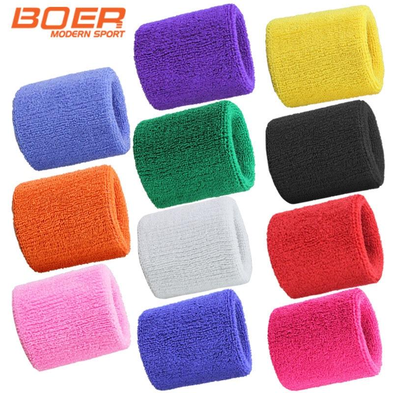 1 pieces Towel wristbands  sweat wristbands Basketball tennis wrist support nice sport wrist support