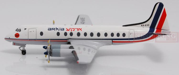 Aeroclassics Acha Israel aviation 4X-AVE 1:400 VIS commercial jetliners plane model hobby