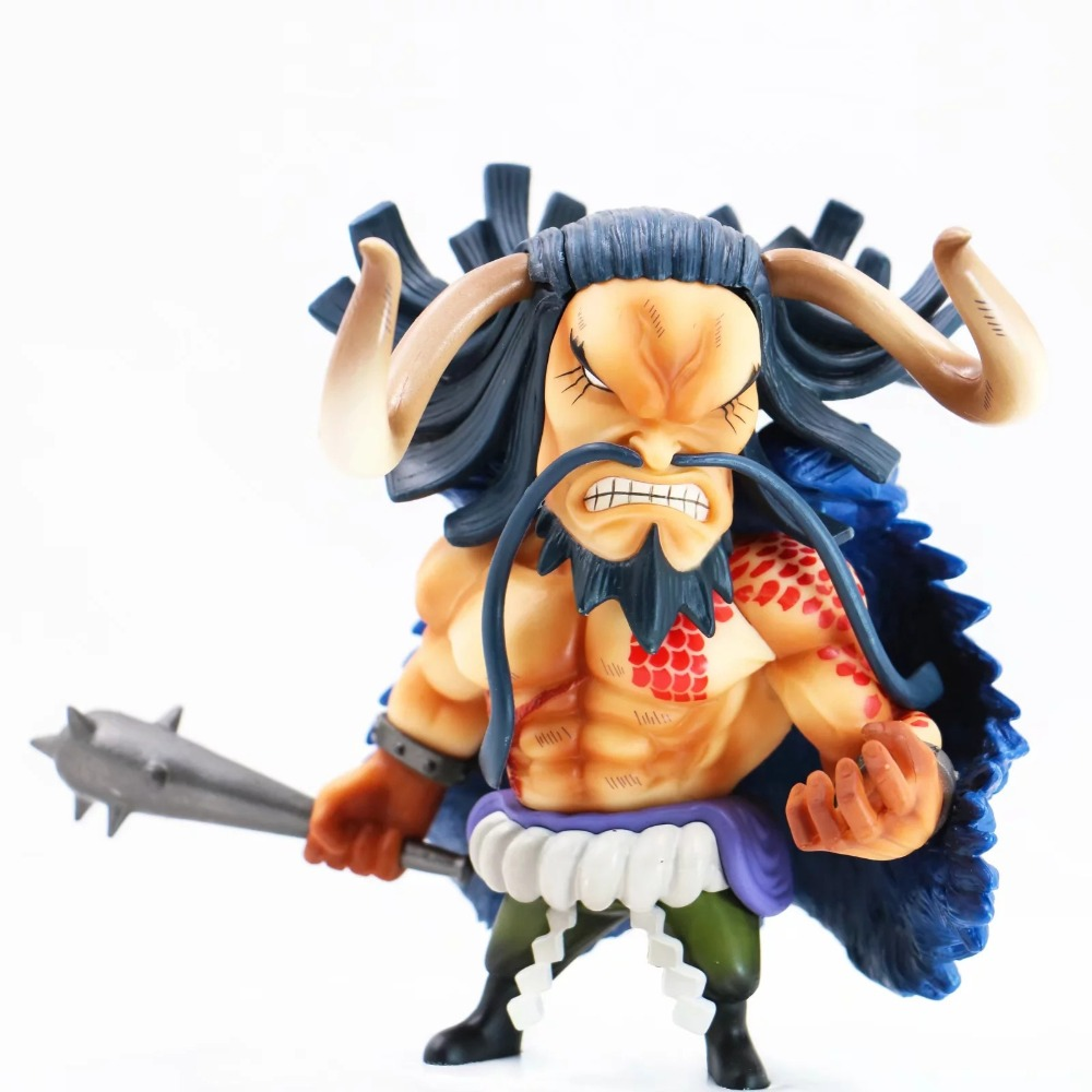 Anime One Piece Four King Kaido Beasts Pirates PVC Action Figure Collectible Model Toys Doll Gift 15CM