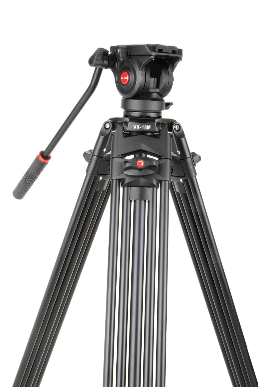 1 8M font b Tripod b font Viltrox VX 18M Pro Heay Duty Aluminum Video font