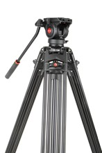1.8M Tripod Viltrox VX-18M Pro Heay Duty Aluminum Video Tripod + Fluid Pan Head + Carry Bag for Camera DV DSLR Comcorder Video