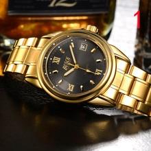 2019new мужские часы водонепроницаемые автоматические кварцевые часы тенденции моды ультра-тонкий-механические мужские часы