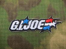 G.I.JOE Logo Tactical military morale Embroidered patch B2531