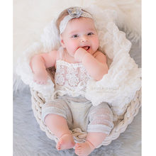 414c64f7ef7 2017 Handmake 6 months Baby Sitter Romper Sitter Newborn Photography Props  Overalls Lace Romper Back Tie Girls Outfit Baby Gift