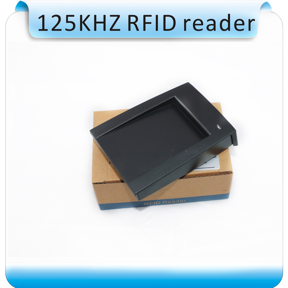 15 style output format 125khz EM ID USB rfid reader 4 byte decimal 8H10D USB Desktop reader card issuing device no driver