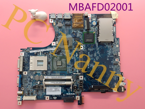 MBAFD02001 HBL50 LA-2921P For Acer Aspire 5680 Main Board Motherboard 945pm ddr2 Nvidia Geforce 7600 128M
