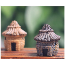 HTHL-Mini DIY dollhouse miniatures cottage terrarium fairy garden gnome moss resin decorations for home and garden(China)