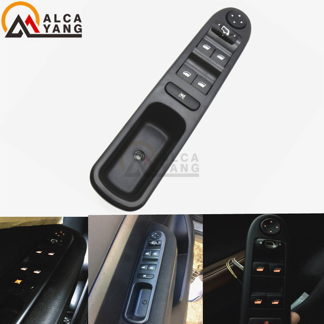 Driver Side Front Window Control Switch 6554.KT For Peugeot 307 307CC 307SW