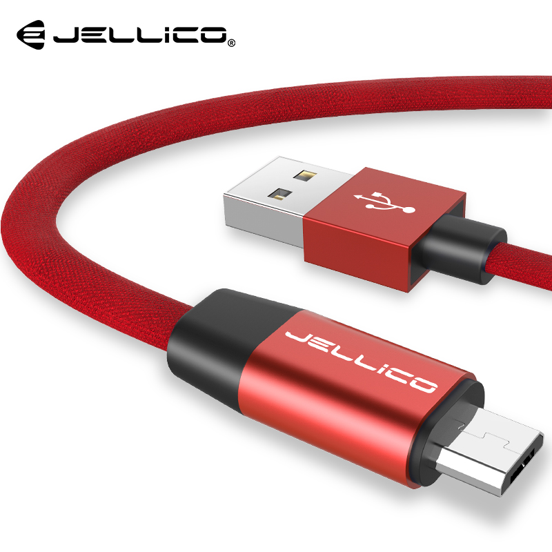 Jellico Micro USB Cable 2A Fast Data Sync Charging Cable For Samsung Huawei Xiaomi LG Andr