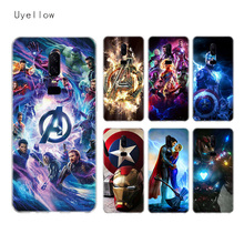 Uyellow The Avengers Super Silicone Soft TPU Phone Case For One Plus 7 Pro 6 6T 5 5T Shell Fashion Fundas Printed Cover Coque