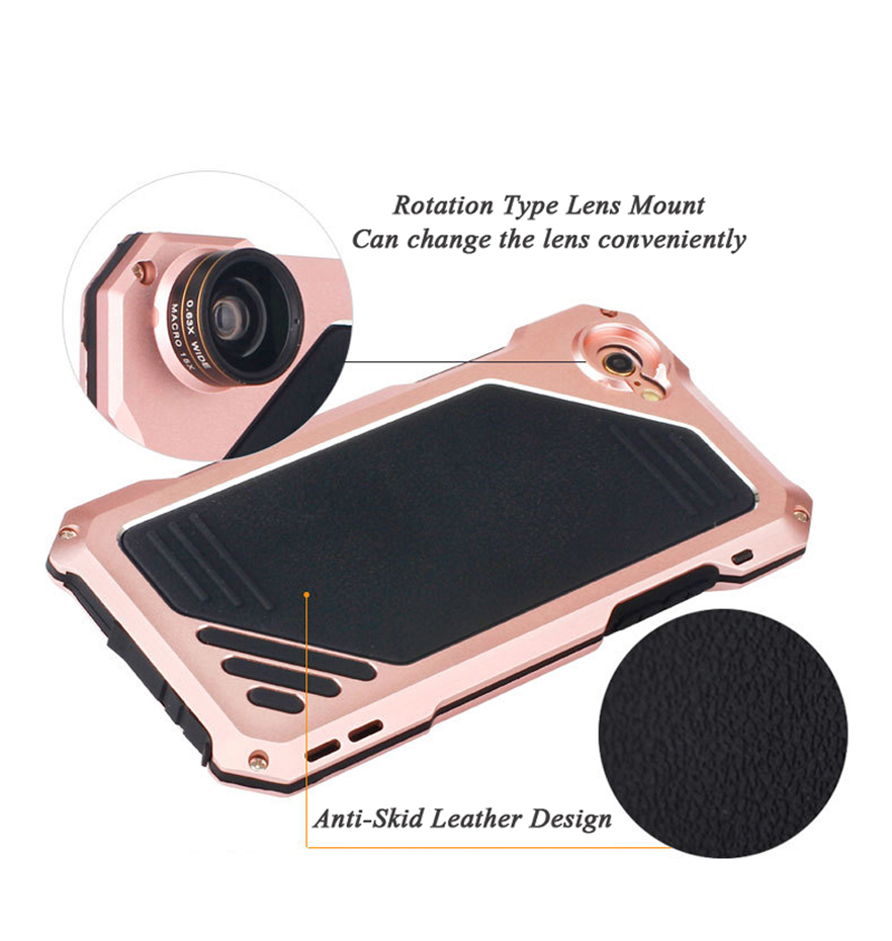 SA92-Dirt-Shock-Waterproof-Metal-Alluminum-Alloy-Phone-Case-For-iPhone-6-6s-Plus-+-Wide-Angle-Lens-Fisheye-Lens-Macro-Lens- (10)