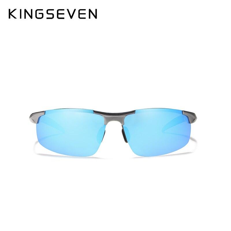 Kingseven marca hombres gafas polarizadas recubrimiento gafas de sol - Accesorios para la ropa - foto 3
