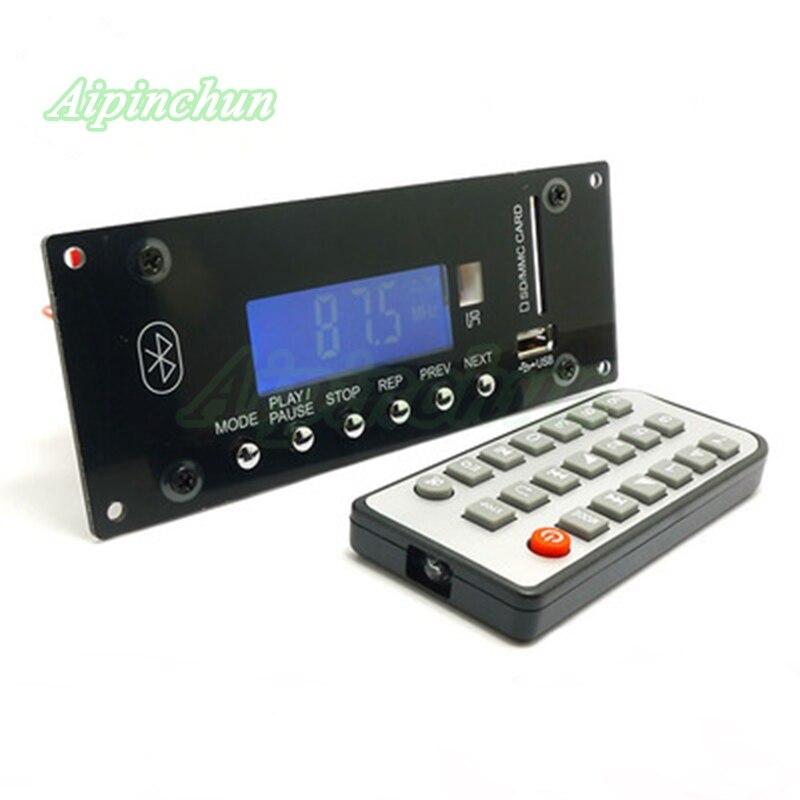 Offen Aipinchun Mp3 Decodierung Bord 4,0 Bluetooth Wireless Audio Diy Modul Ape/flac/wma/wav/mp3 Decoder Unterstützung U Sisk Sd Karte Radio Kaufen Sie Immer Gut Mp3-player