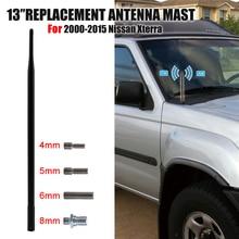 Car Radio FM Antenna Amplifier Mast For Nissan Xterra 2000- Auto Roof Signal Aerial Booster FM AM Vehicle Antena WISENGEAR /