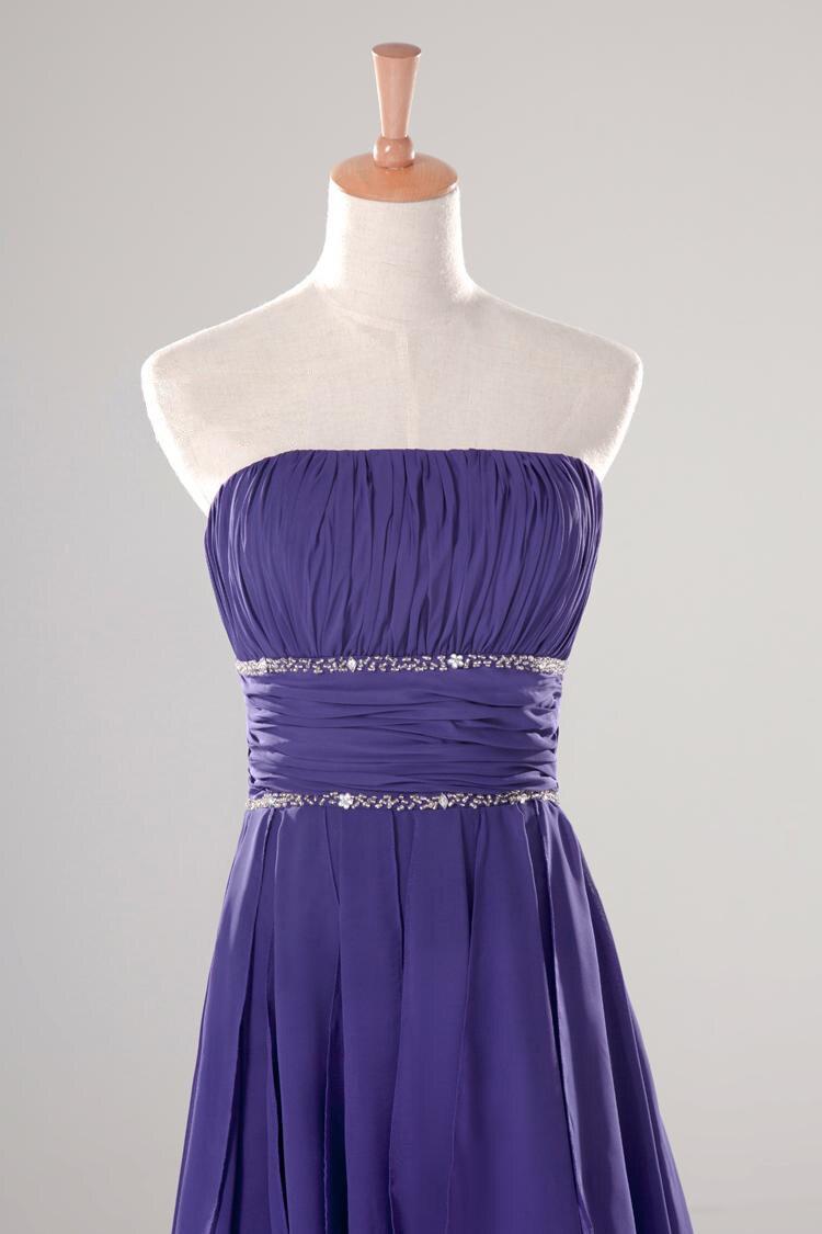 Hermosa Vestido Alto Bajo Cóctel Motivo - Vestido de Novia Para Las ...