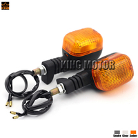 For BMW F650 Funduro / F650ST 1997 2000 / G650GS 2009 2010 Accessories Front / Rear Turn Signal Indicator Light Lamp Amber