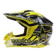 2016 Profesional Casco de Motocross Rockstar Motocicleta Marca Racing Casque Capacete casco