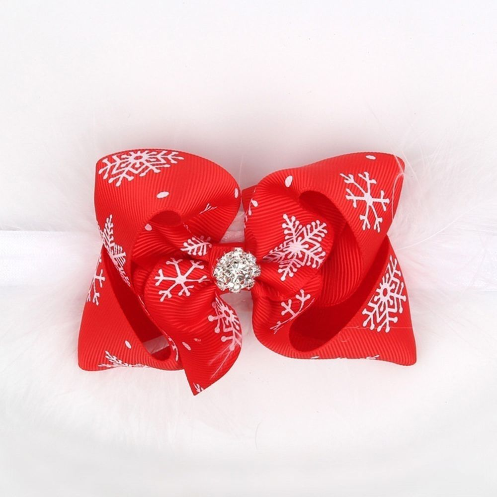 1 Pc Neue Heiße Infant Baby Mädchen Feder Stirnband Nette Große Schnee Blume Hairband Foto Prop Outfit Weihnachten Geschenk Hot