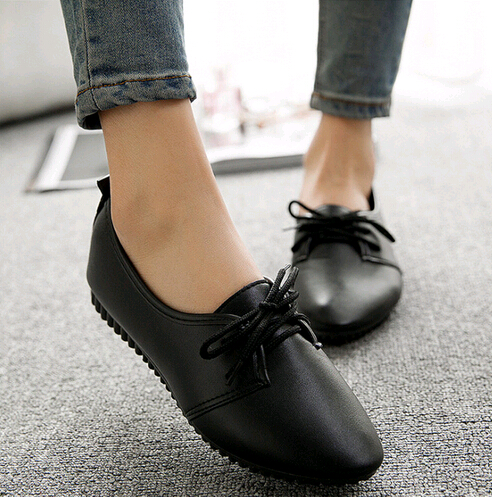 ASDS 2017 New Fashion High Quality Vintage Women Flat Shoes women Flats and Women's Spring Summer Autumn Shoes flats new women s shoes in spring and summer 2017 will be able to make comfortable and sweet flat footed women s shoes