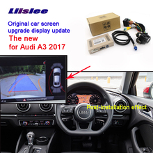 Car Screen Upgrade Display Update Rear Backup Camera Interface Kit For Audi A3 2017 Rmc Navplus
