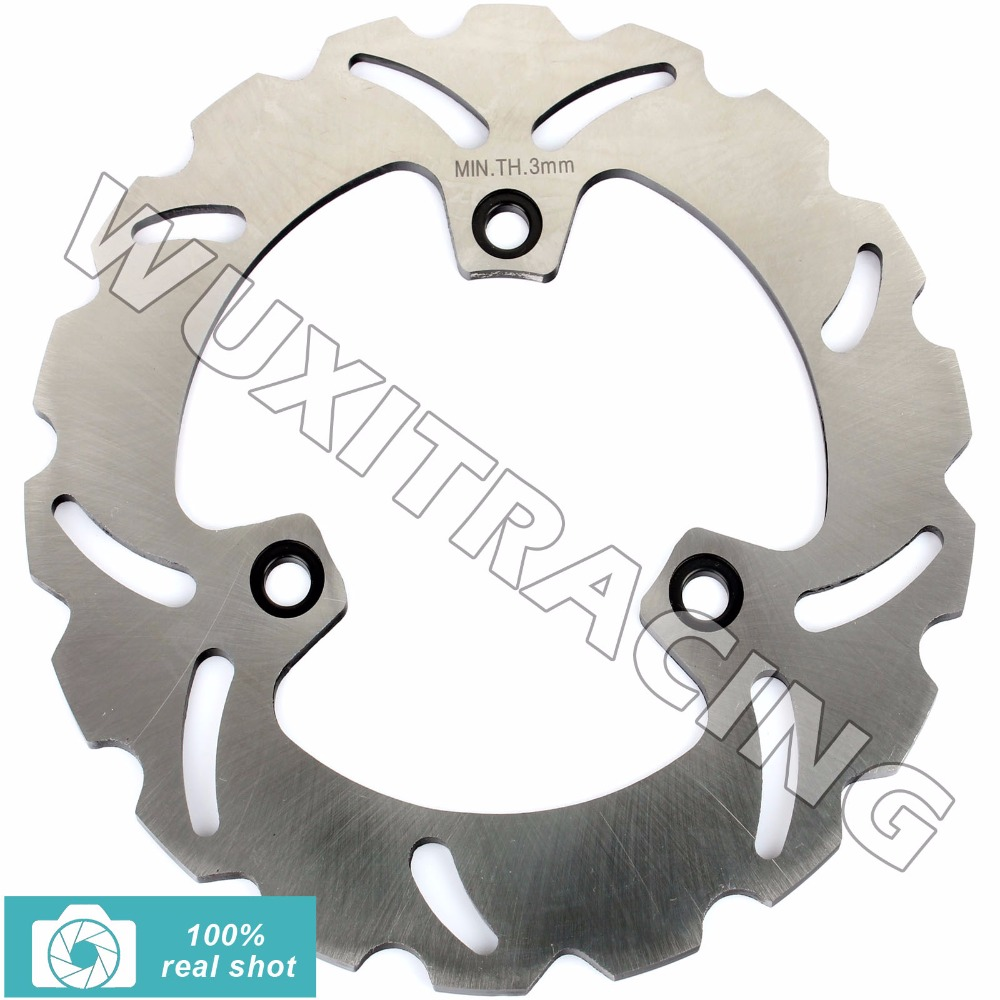 New Rear Brake Disc Rotor for HONDA CBR 250 400 500 600 F R Hurricane 85-90 NSR 250 400 R 85-98 91 92 93 94 VFR 400 R Z 86 87 88 dali spektor 2 black ash