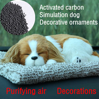 Home Car Decoration Active Carbon Purified Air Emulate Dog Toy Decorative 2017 NEW Decoration Crafts Miniatures