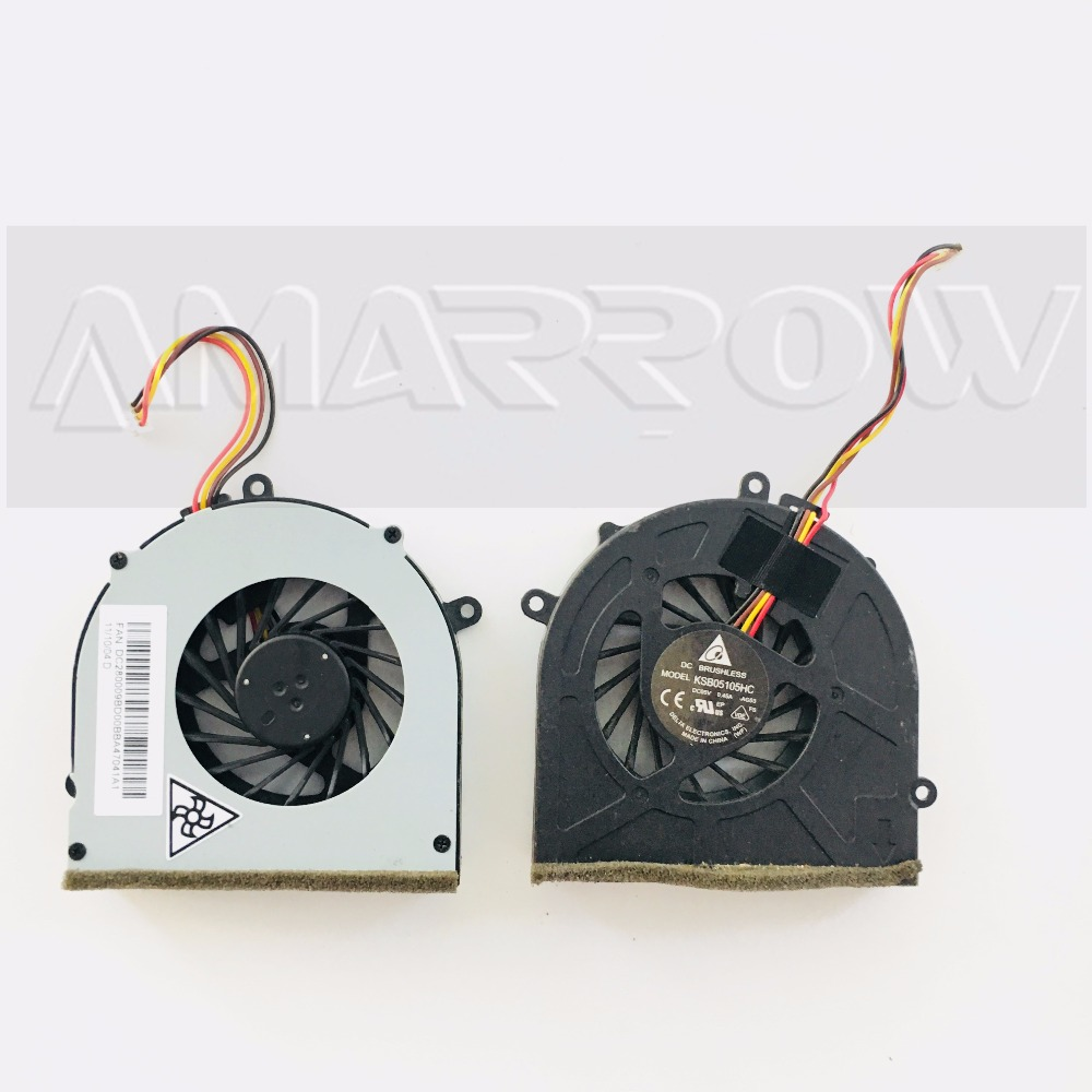 NEW Original laptop cpu cooling fan for LENOVO G570 G470 G470A G470AH G570 G475AX G475 KSB05105HC