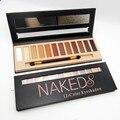 Naked paleta marca de maquiagem cosméticos brilho fosco maquiagem cores de sombra pigmento paleta de sombras nudes fosco sombra de olho