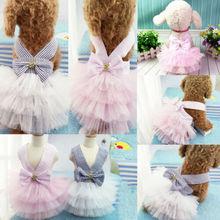 Милый питомец собака балетные костюмы юбка одежда для щенка, котика Lacs платье пачка собака породы чихуахуа одежда