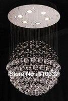 50 см Новая сферическая хрустальная люстра круглая подвесная ламповое освещение ems Бесплатная доставка SJ37