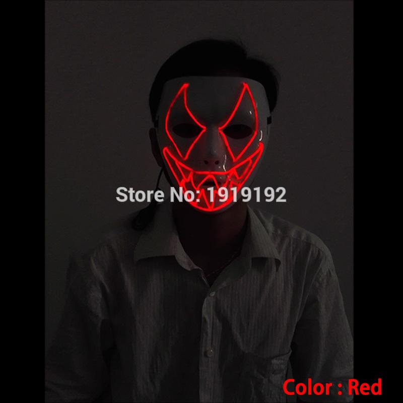 HTB1lBHLRVXXXXbAXpXXq6xXFXXXQ - Mask Light Up Neon LED Mask For Halloween Party Cosplay Mask PTC 260