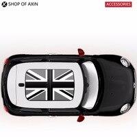 Grey UK sun roof Graphics stickers Sunroof for MINI Cooper clubman countryman hardtop R50 R52 R53 R55 R56 R60 R61 F54 F55 F56