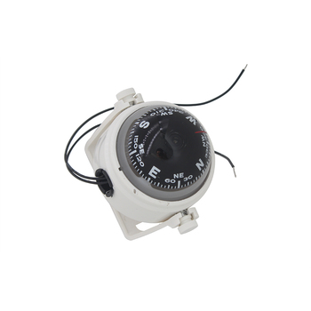 White/Black Housing Marine Navigation Compass wiht LED Night Light for Sail Ship Boat Yacht 12V kanpas basic competiton orienteering thumb compass free ship ma 40 fs from compass factory