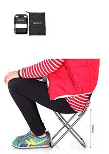 Image 5 - אור חיצוני דיג כיסא על ידי חזק אלומיניום סגסוגת ניילון הסוואה מתקפל קטן גודל כיסא קמפינג טיולים כיסא מושב שרפרף
