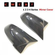 Для BMW F30 F32 F33 F20 F22 F23 F36 X1 зеркало M3 M4 Посмотрите углеродного волокна зеркала крышка зеркала на замену