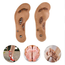 Foot massager Magnetic Therapy Thener foot Massage Pads Clean Health Slimming Pain Acupuncture Insoles Shoe mat  Care Pad цена в Москве и Питере